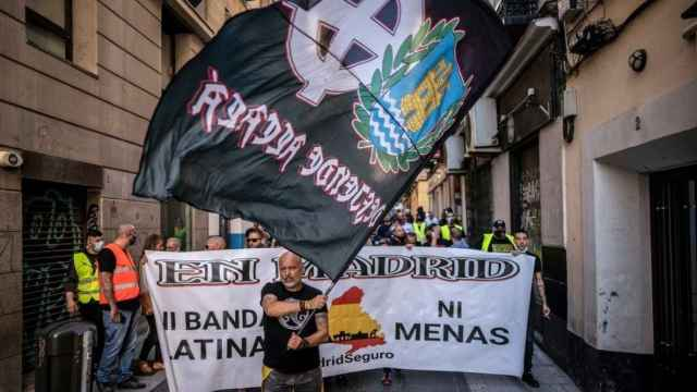 Manifestación neonazi en Chueca, Madrid. EP
