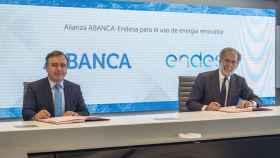 Abanca y Endesa firman un acuerdo de suministro de energía eólica de origen gallego a 10 años