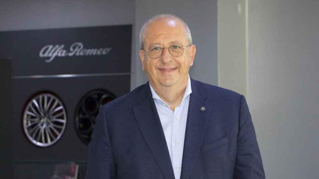 Jean-Philippe Imparato, CEO de Alfa Romeo, en Madrid.