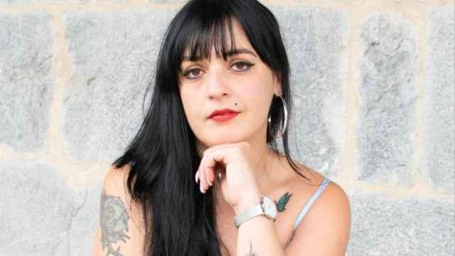 La escritora y activista Amelia Tiganus.
