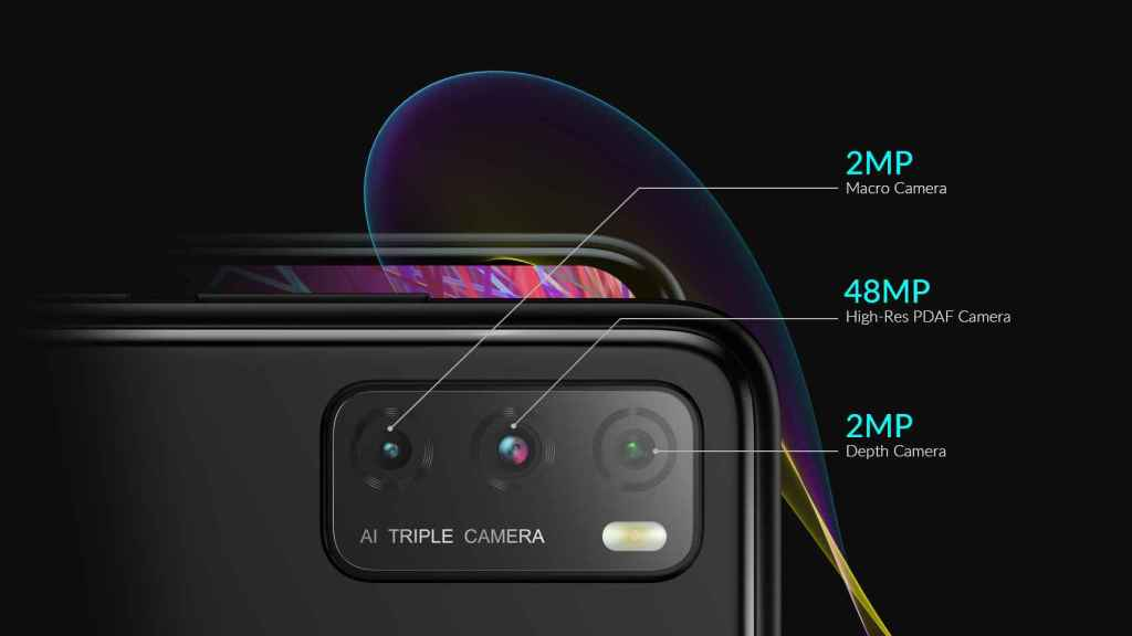 Alcatel 5H cámaras