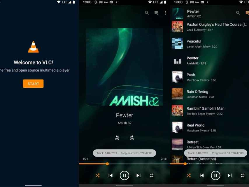 VLC actualización