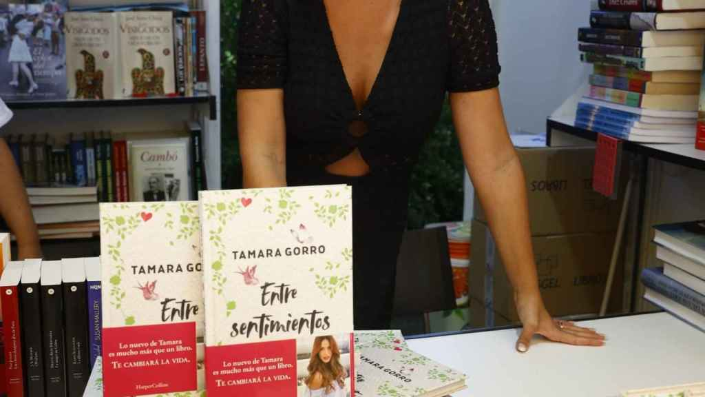 Tamara Gorro en La Feria del Libro.