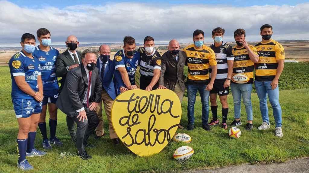 Convenio entre Tierra de Sabor y equipos de rugby de Castilla y León