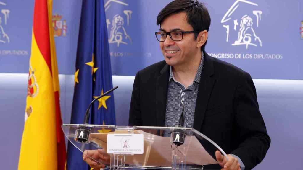 Gerardo Pisarello, este martes en el Congreso de los Diputados.