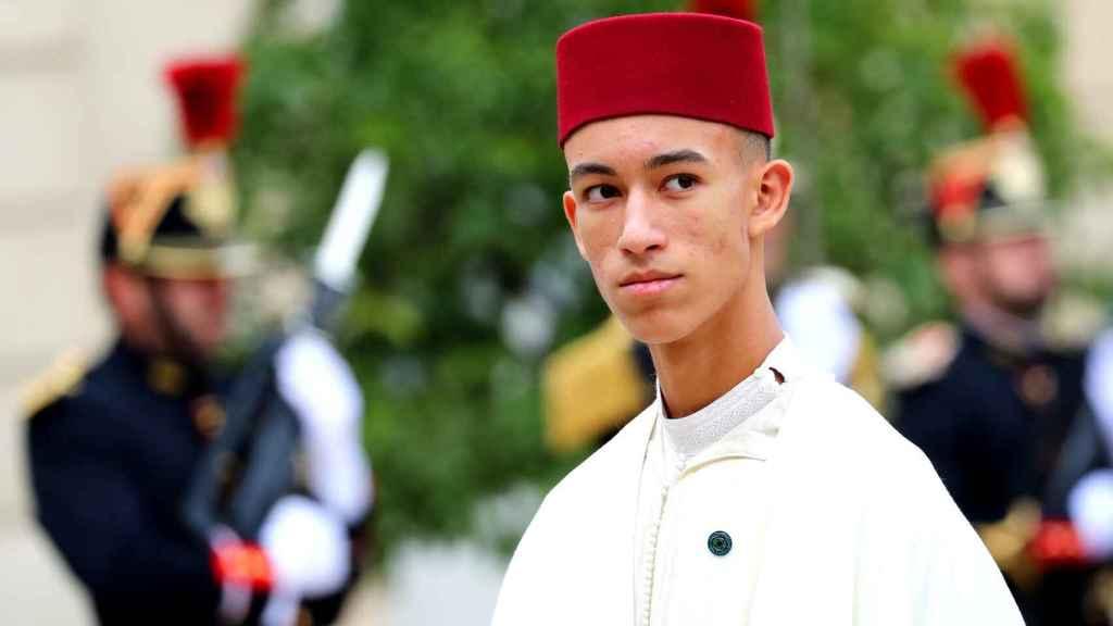 El príncipe Moulay Hassan, en septiembre de 2019.