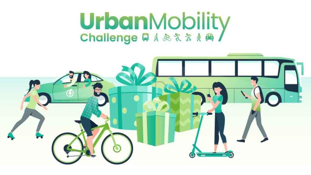 Cartel 'Urban Mobility Challenge'