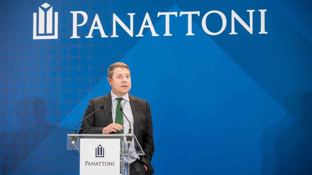 García-Page en la inauguración del nuevo centro logístico 'Panattoni Park Torija I' (Guadalajara)