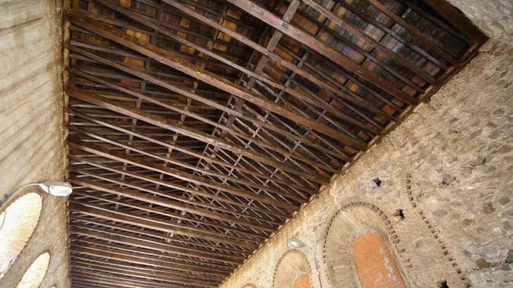 Restauración del almacén del cementerio de Toledo