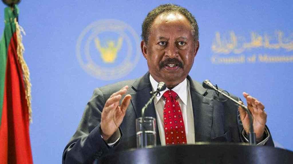 El primer ministro de Sudán, Abdalá Hamdok.