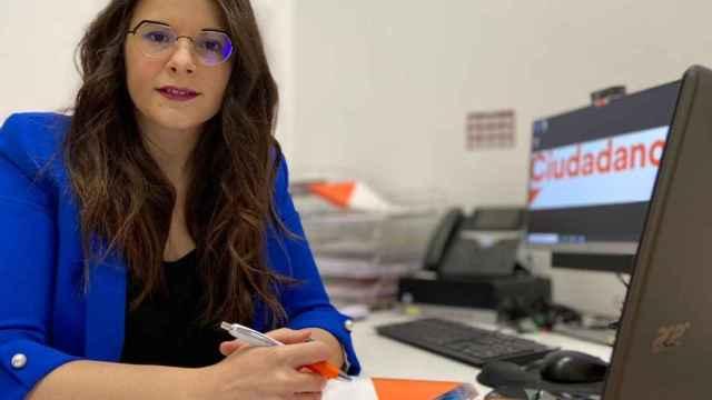 Gema Gómez, portavoz de Ciudadanos Valladolid