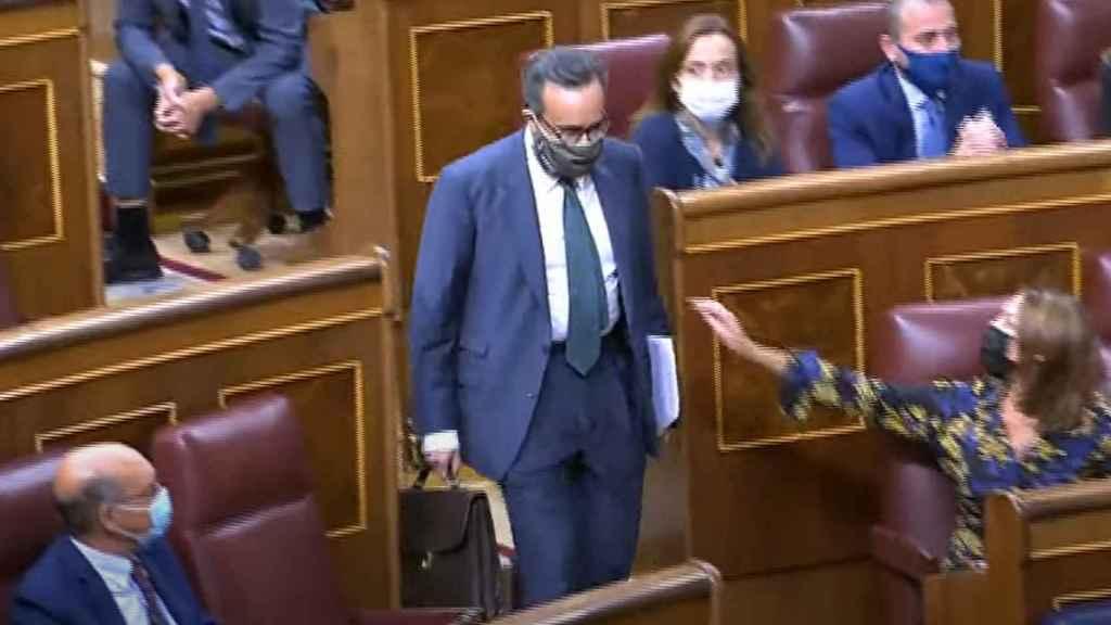 El diputado José María Sánchez-García, expulsado del Congreso.