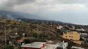 La lava del volcán de la Palma llega al centro de Todoque, último pueblo antes de llegar al mar