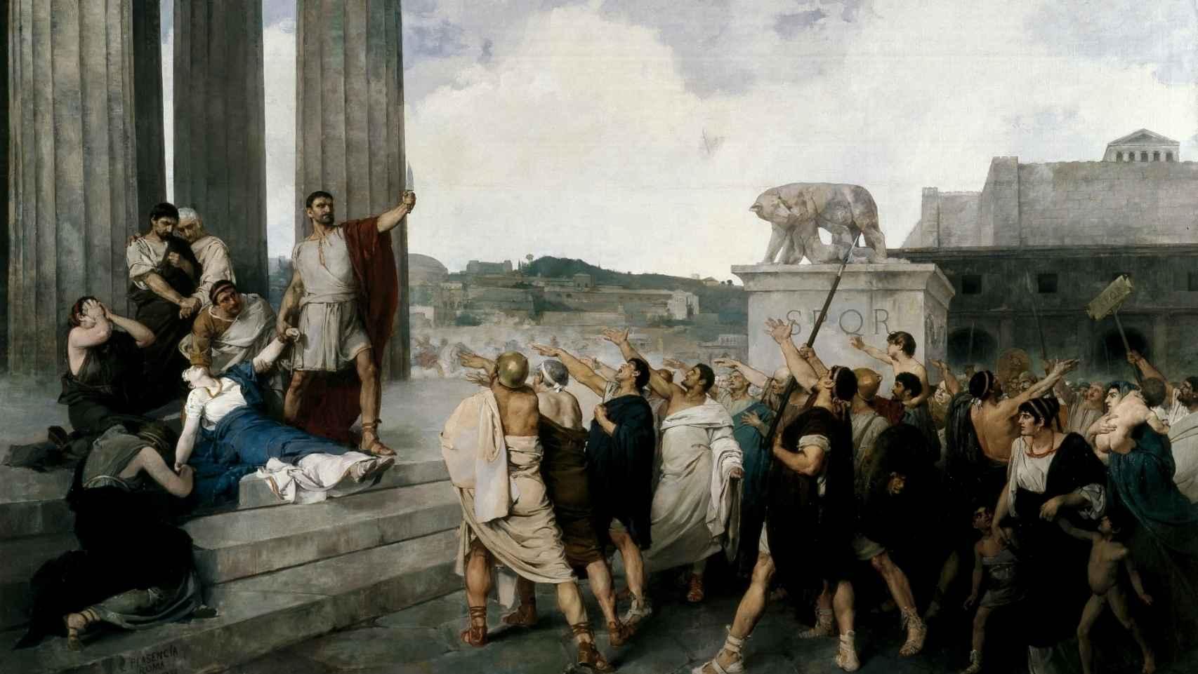 Origen de la República Romana, según Casto Plasencia y Maestro.