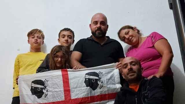 Silvia y su familia.