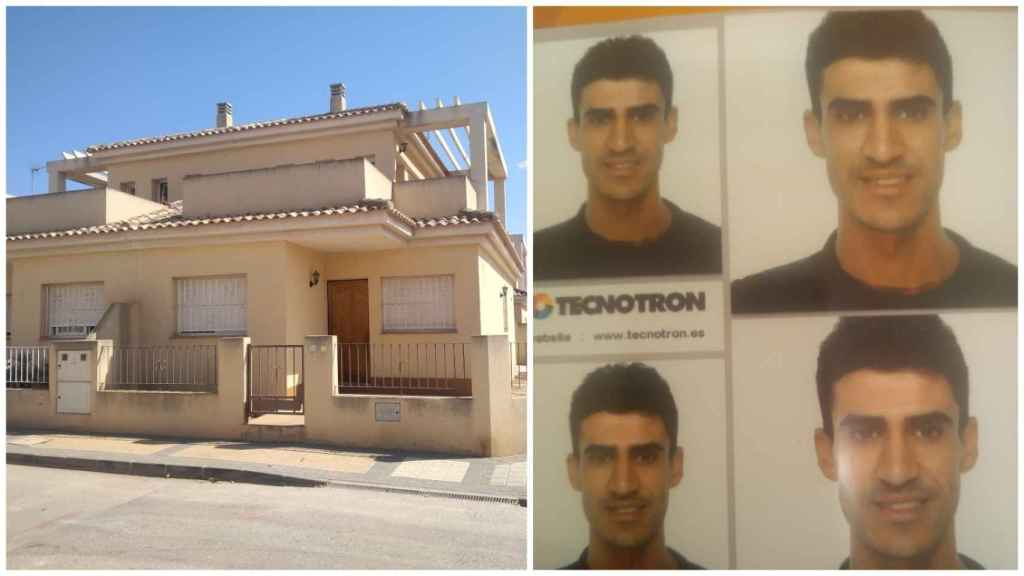 Dúplex de El Jimenado donde había alquilado una habitación Abdellah.