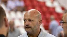 El entrenador del Balonmano Benidorm, Fernando Latorre.