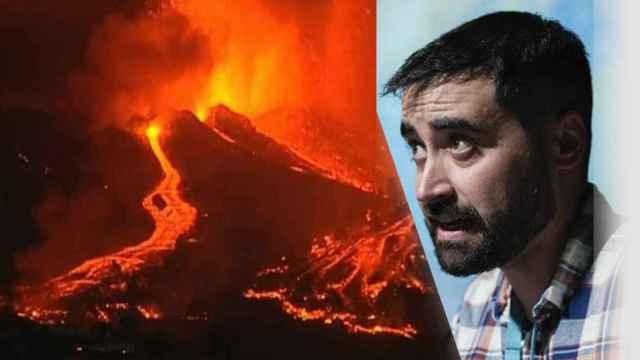 Nahúm Méndez , el geólogo 'en apuros' de Alicante que le toca desmentir los bulos del volcán de La Palma