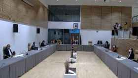 Reunión del pleno del Ayuntamiento de Salamanca