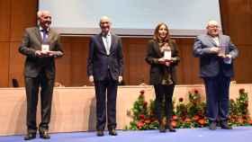 El presidente de la Diputación de Salamanca entrega las Medallas de Oro de la Provincia
