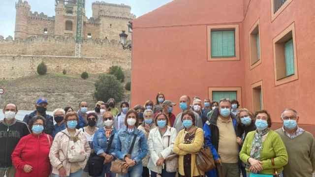 Los participantes de 'Viajero yo te enseñaré Segovia'