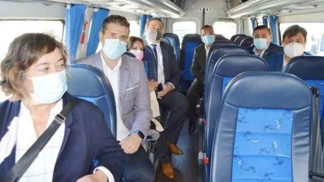 El bono rural de transporte gratuito se extiende a diez municipios vallisoletanos