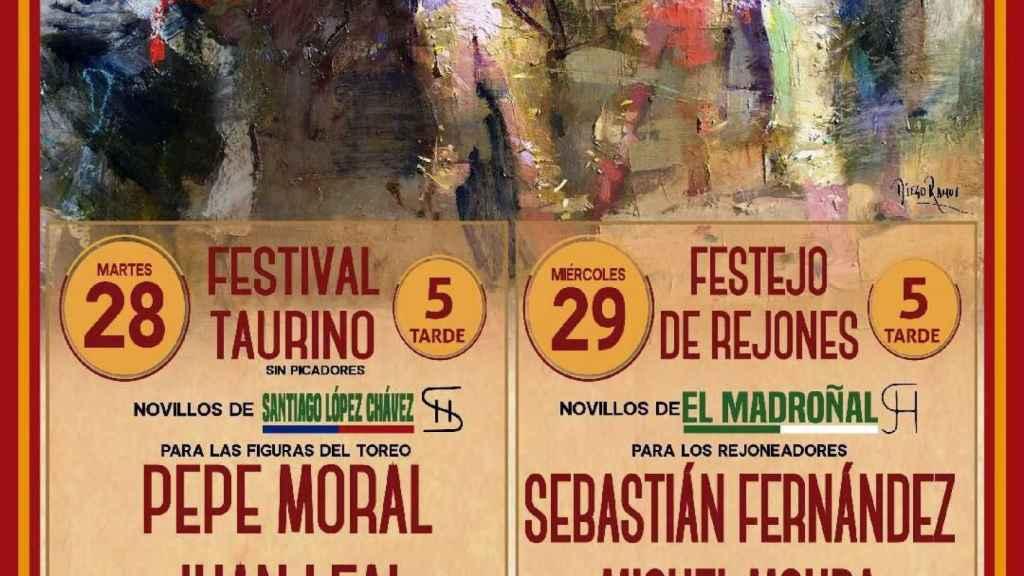 Cartel de la Feria Taurina de Mayorga