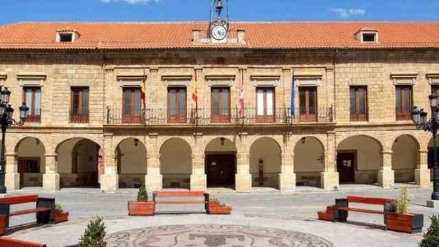 Fachada del Ayuntamiento de Benavente