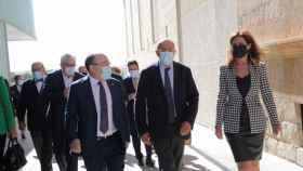 El vicepresidente de la Junta de Castilla y León, Francisco Igea, en la la jornada 'La empresa, ante la ejecución de los Fondos Next Generation EU'