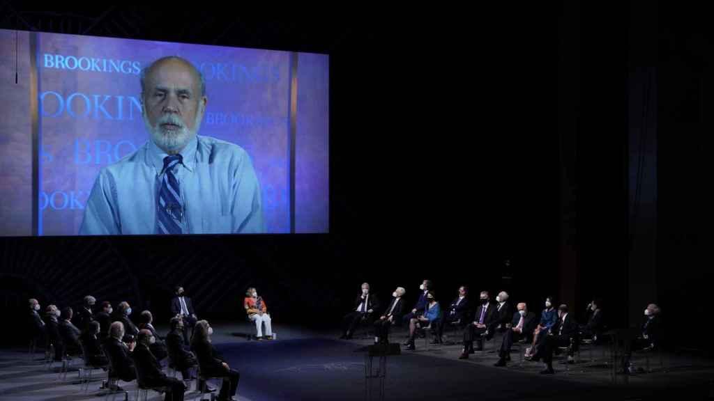 Ben Bernanke interviene desde Washington en los Premios Fronteras del Conocimiento.