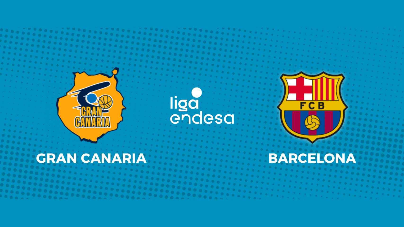 Gran Canaria - Barcelona: siga en directo el partido de la Liga Endesa