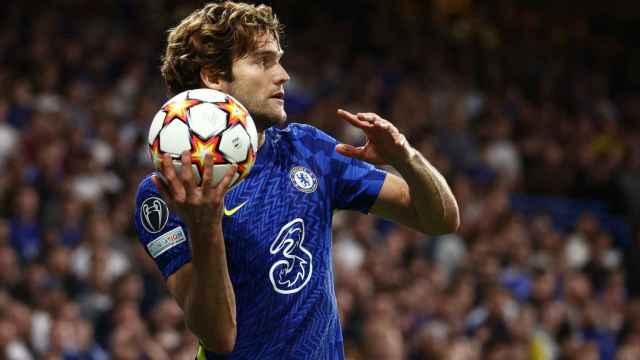 Marcos Alonso, con el Chelsea