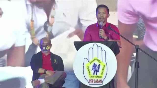 Manny Pacquiao se presenta a las elecciones a la presidencia de Filipinas