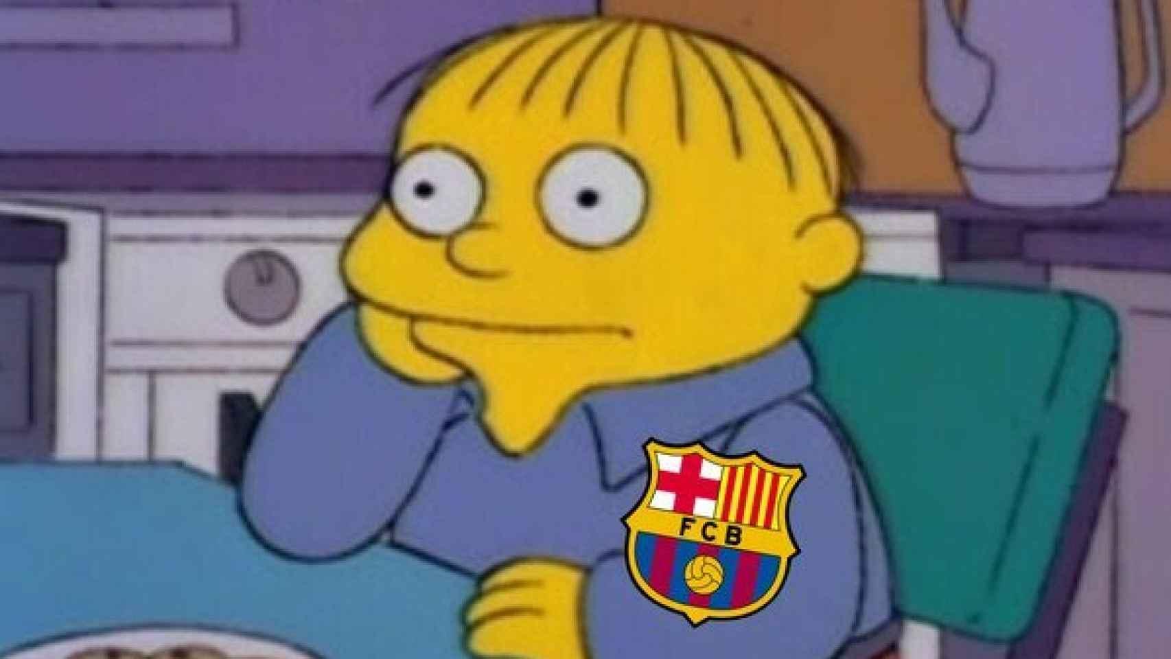 Meme del Barcelona - Granada de La Liga
