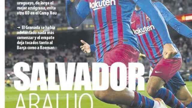 Portada Mundo Deportivo (21/09/21)
