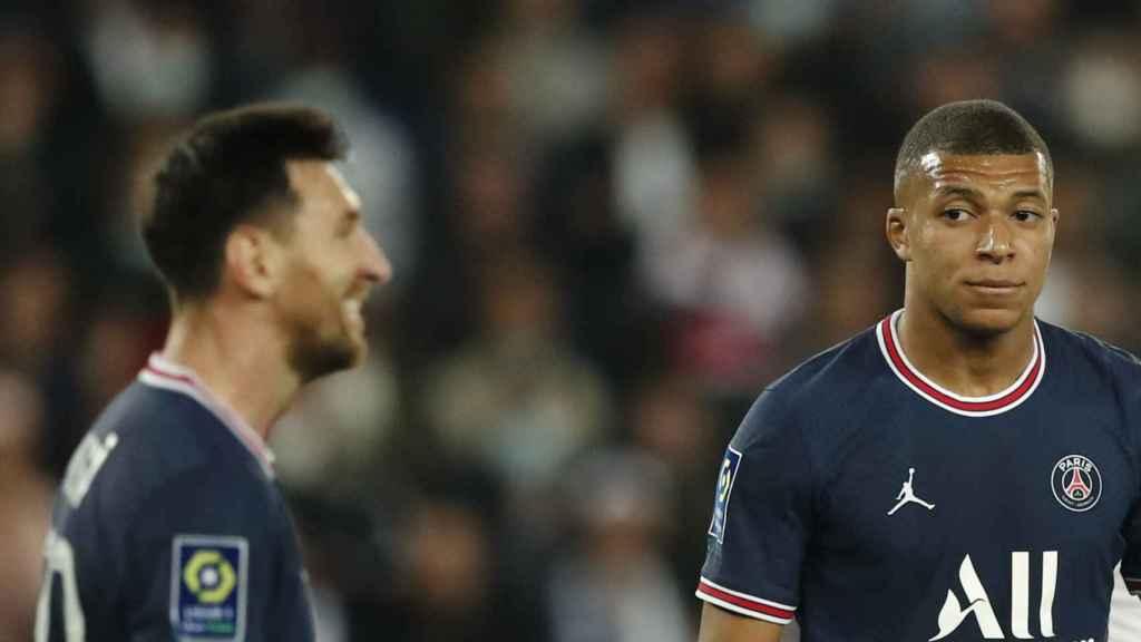 Messi y Mbappé, con el PSG