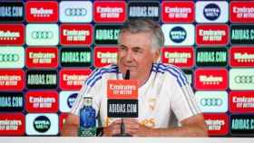 Rueda de prensa de Carlo Ancelotti antes del Real Madrid - Mallorca