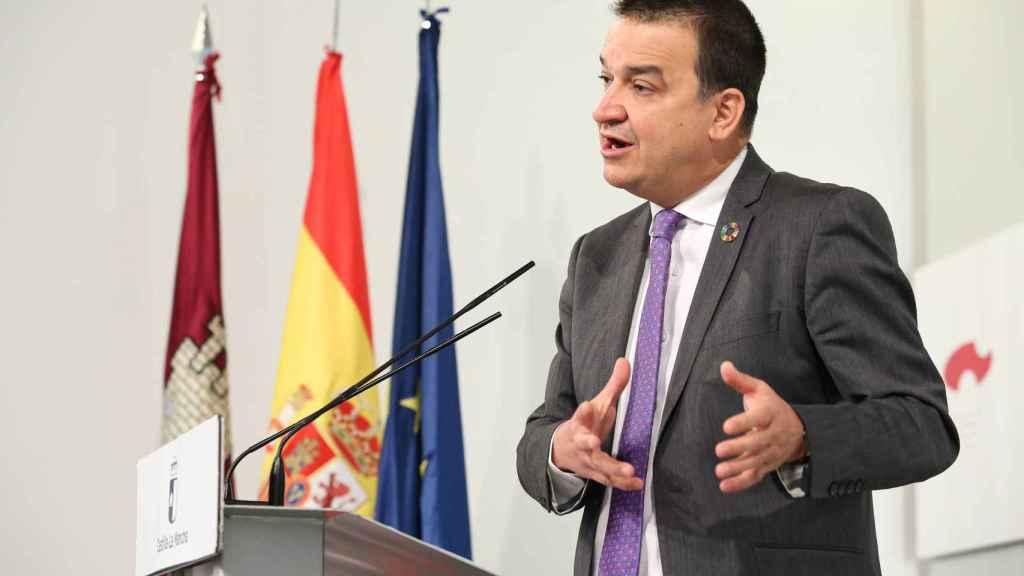 Francisco Martínez Arroyo, consejero de Agricultura, Agua y Desarrollo Rural de Castilla-La Mancha.