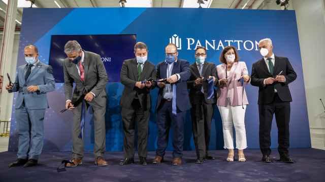 Inauguración del nuevo centro logístico 'Panattoni Park Torija I' (Guadalajara)