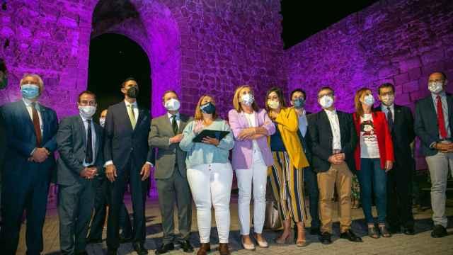 Inauguración de la nueva iluminación artística de las Murallas de Talavera