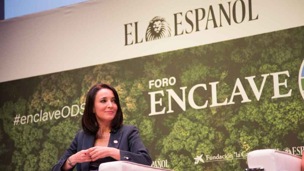 Cruz Sánchez de Lara, vicepresidenta de EL ESPAÑOL y editora de ENCLAVE ODS, fue la moderadora del foro.