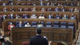 Reciente sesión de control en el Congreso de los Diputados.