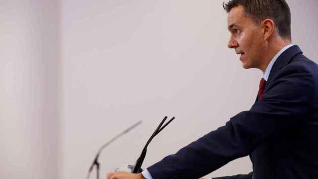 El portavoz parlamentario socialista, Héctor Gómez.