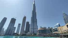 El Burj Khalifa, edificio más alto del mundo, en el epicentro del distrito financiero de Dubái. Foto: A. Iglesias Fraga