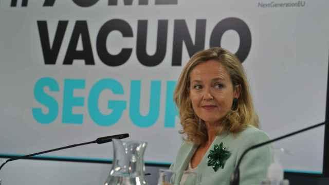 Nadia Calviño, vicepresidenta primera y ministra de Economía (ADP).