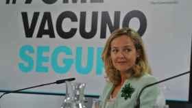 Nadia Calviño, vicepresidenta primera y ministra de Economía.