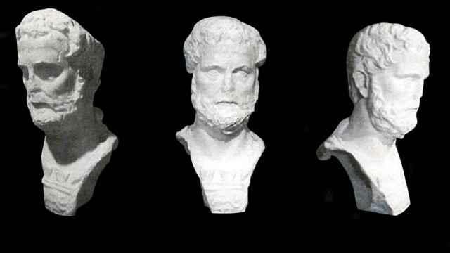 El busto de Antonino Pio de Malaka