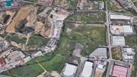 Vista de los terrenos de Trénevez Oeste, en Málaga capital.