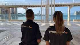 Agentes en el Muelle 1.