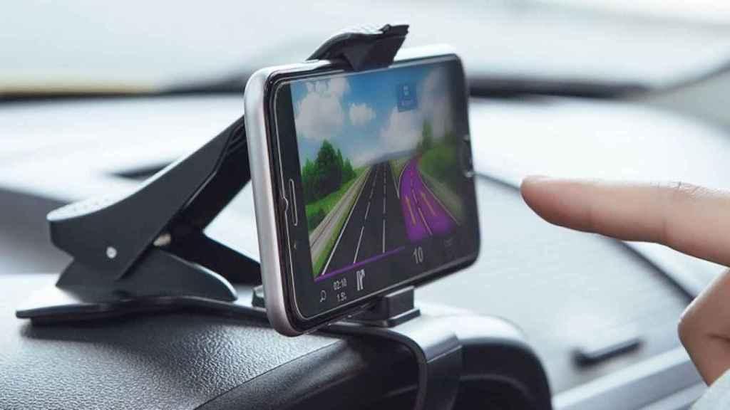 Consultar el navegador mientras se conduce